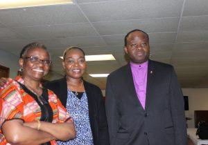 Rev J Kabamba Kiboko Ph.D,Hilde Nyengele, Bishop Muyombo
