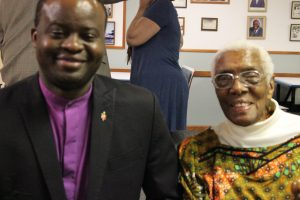 Bishop Muyombo, Ethel Johnson